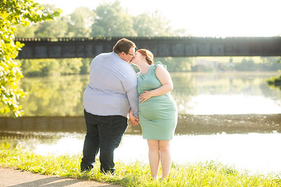Kim and Charles Maternity Session 2021