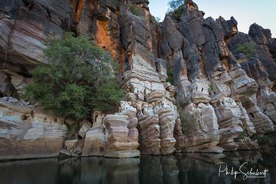 """""""Devonian Cliffs"""" - Giekie Gorge, The Kimberley, Western Australia"""
