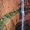 Un-named Dual Drop Waterfall in the Cockburn Range - North East Kimberley