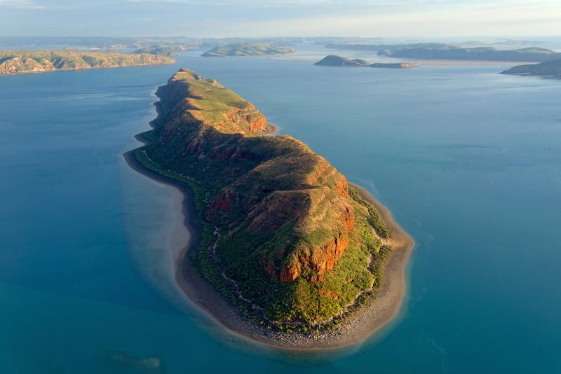 Ilot de l'archipel des Boucaniers. Kimberley/Australie Occidentale/Australie