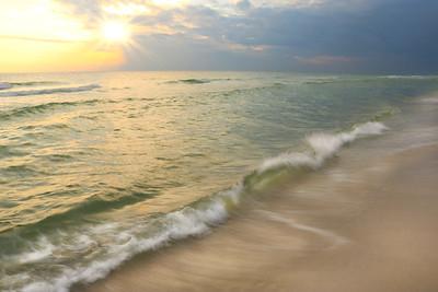 Sunset On The Emerald Coast