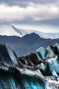 Layers Of Rocks And Ice