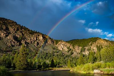 Double Rainbows Over Buena Vista, CO