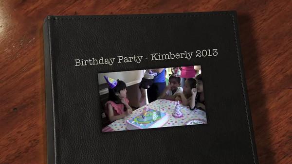 Kimberly 6th Birthday
