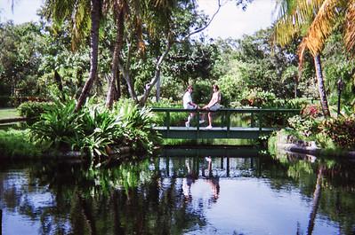 At the Garden of the Groves Botanic Garden