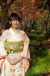 Young Lady in Kimono