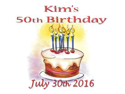 Kim's 50th Birthday Party