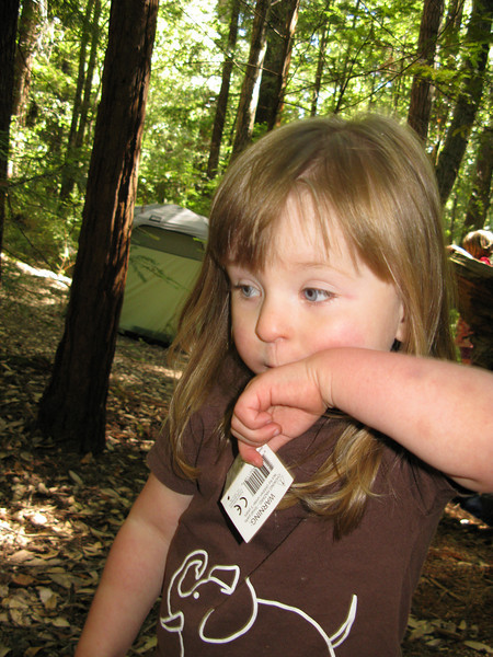 """7/5/2010 - that little tag she's holding on to was a """"book""""..."""