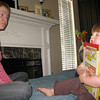 4/16/2010 - she loves the new Richard Scarry book Aunt Tracey brought her...