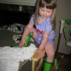 7/14/2010 - little cowgirl in training...
