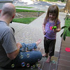 7/13/2010 - Molly and N having some bubble time