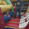 10/16/2010 - going through the bouncy obstacle course with daddy...