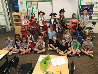 Kindergarten Pirates & 577 Field Trip (September 2017)