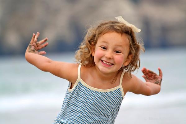 Our girl<br /> <br /> La Jolla, California (July 2010)