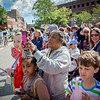 Lots of people and bystanders came out to watch the first ever Kinetic Races in Lowell. SUN/Caley McGuane