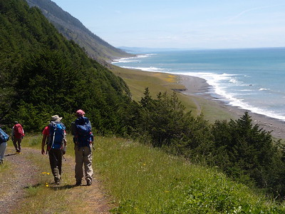 Wilderness Volunteers: 2016 King Range National Conservation Area, The Lost Coast (California)