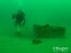 Diver FrankG collecting lobster