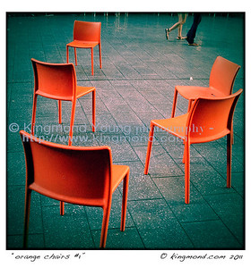 Orange Chairs #1
