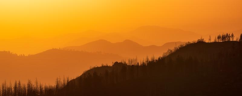 Sunset Sky - Kings Canyon