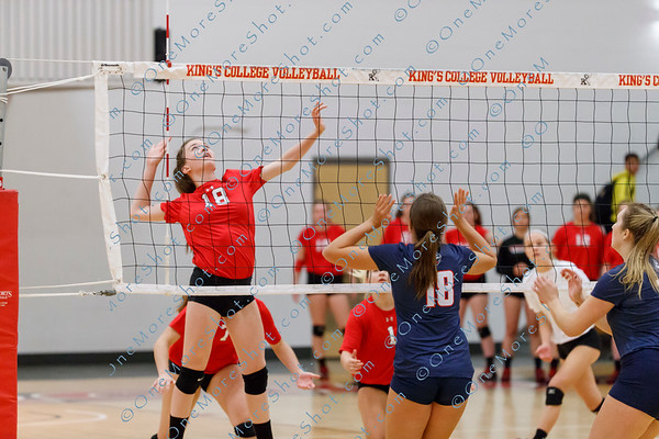 King's College Women's Volleyball vs DeSales 10/24/2018