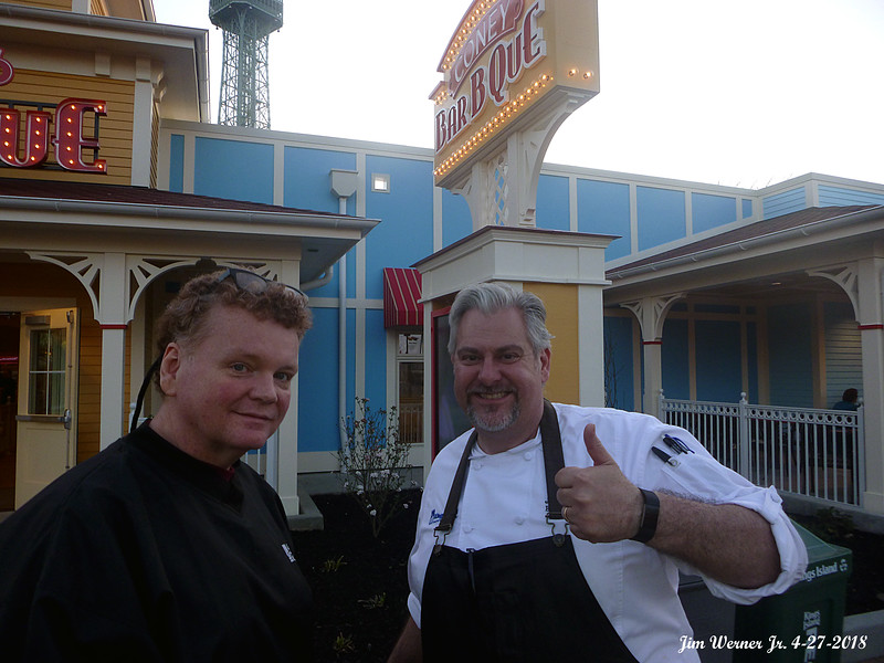 "Kings Island's new executive chef, James Major! He has won twice on the Food Network's reality show, ""Chopped."" He has also appeared on ""Cutthroat Kitchen."""