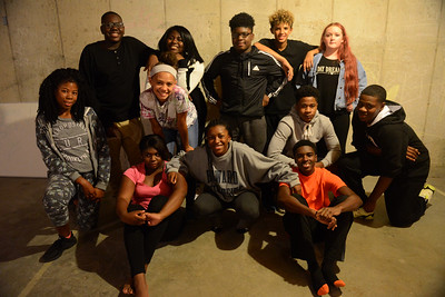 Tania Barricklo-Daily Freeman                      Older members of  Kings Kids at Pointe of Praise Church in Kingston who will be participating in the upcomuing talent show.