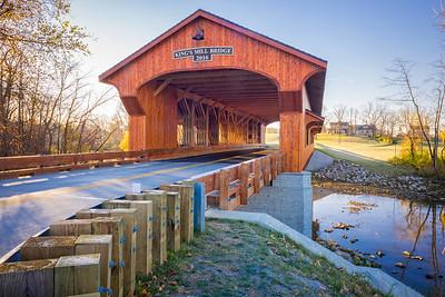 Kings Mill Covered Bridge--4