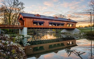 Kings Mill Covered Bridge-