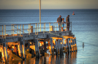 Fishing at the Jetty
