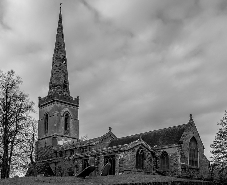 The Church of Saint John The Baptist, Vicarage Lane, Kingsthorpe, Northampton