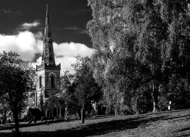 Saint John the Baptist church, Kingsthorpe, Northampton