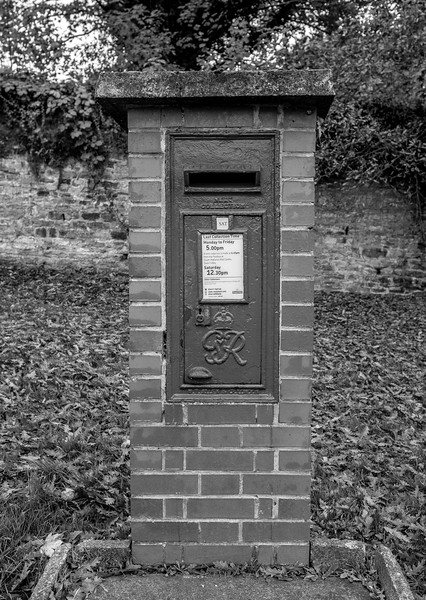 George VI Post Box, Kingswell Road, Kingsthorpe, Northampton