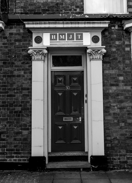 Doorcase, Terraced Houses, Harborough Road, Kingsthorpe, Northampton