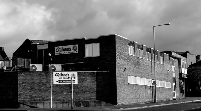 Gallone's Ice Cream Factory, Kingsthorpe, Northampton
