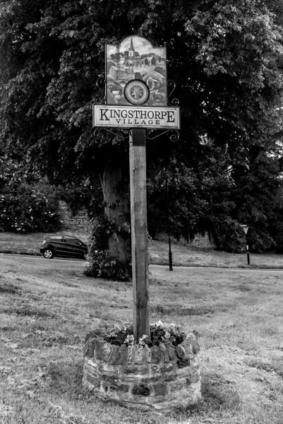 Village Sign,  Kingsthorpe, Northampton