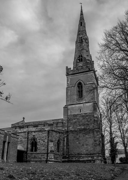 Tower, The Church of Saint John The Baptist, Vicarage Lane, Kingsthorpe, Northampton