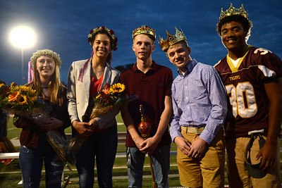 Kingston Homecoming Queen and King