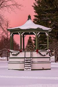 Christmas Band Stand