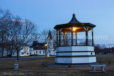 Bandstand in Blue
