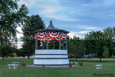 Bandstand on the 4th of July