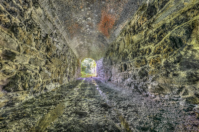 Old Tunnel in Kingston New York (Future part of the Green Line)