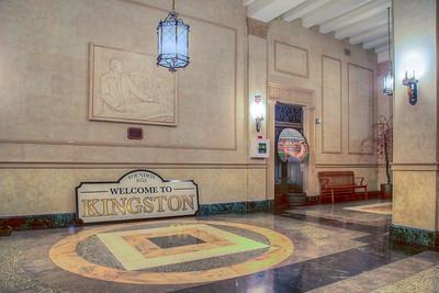 Inside City Hall, Kingston, NY, USA