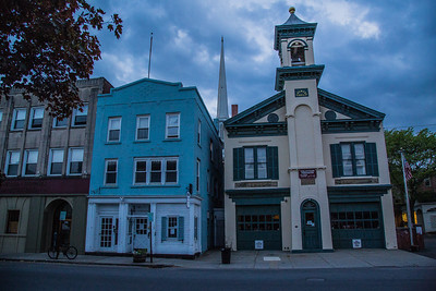 Volunteer Firemens Museum, Kingston, New York, USA