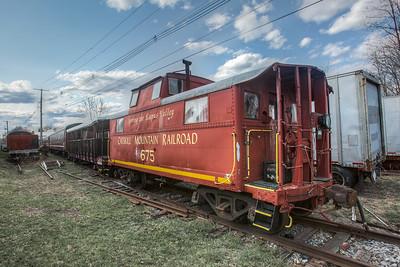 Catskill Mountain Railroad Yard, Kingston, New York, USA