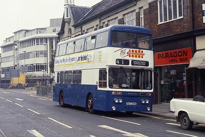 KHCT 341 Carr Lane Hull Sep 89