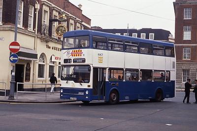 KHCT 504 Central Bus Stn Hull Sep 89