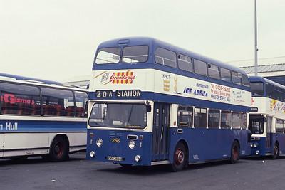 KHCT 256 Hull Central Bus Stn Sep 89