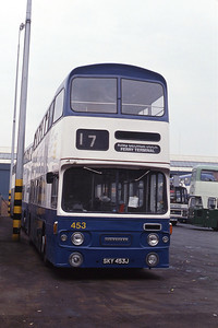 KHCT 453 Central Bus Stn Hull Sep 89