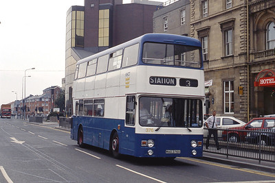 KHCT 376 Ferensway Hull Sep 89