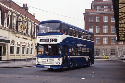 KHCT 135 Central Bus Stn Hull Sep 89